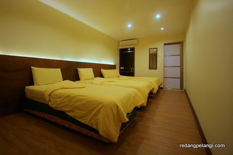 Redang Pelangi Resort Room Redang Pelangi Quad Room